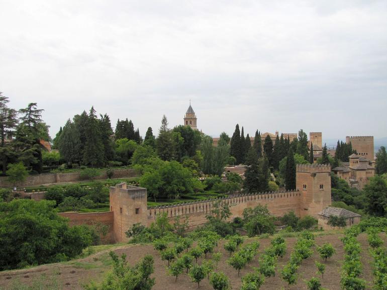 Alhambra, Granada - Seville
