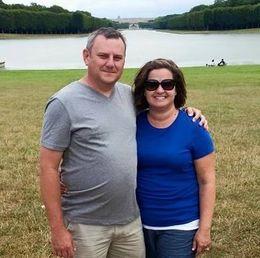 We took lots of photos in and around Versailles. Notice Versailles in the background. , thomassullivan27 - September 2015