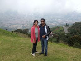 Mr Ramesh and Mrs Kalpana Jain are in the Photo.........Last Photo together, before ParaGliding , Ramesh J - March 2014