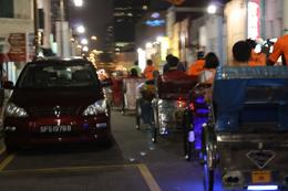 Trishaw convoy, Kay T - March 2010