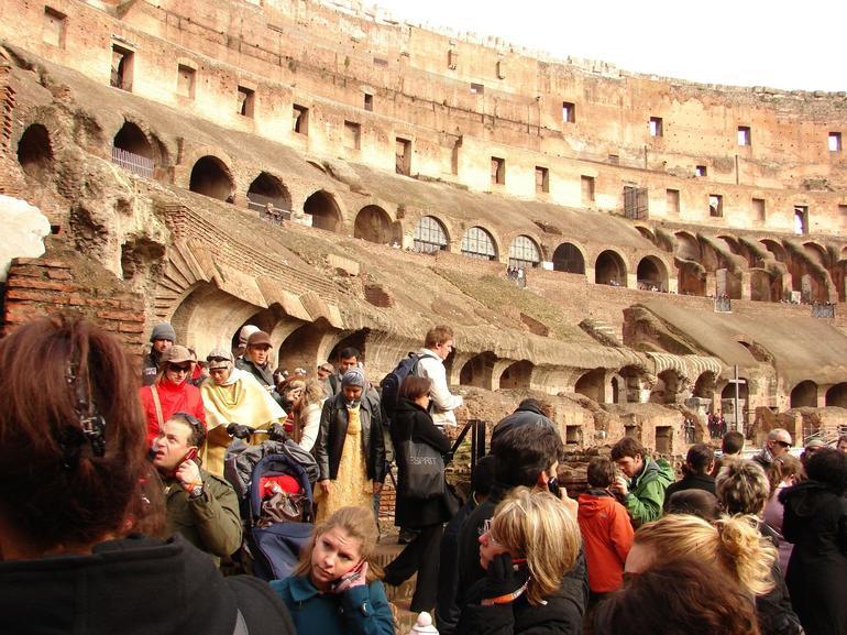 Inside the Colosseum - Rome