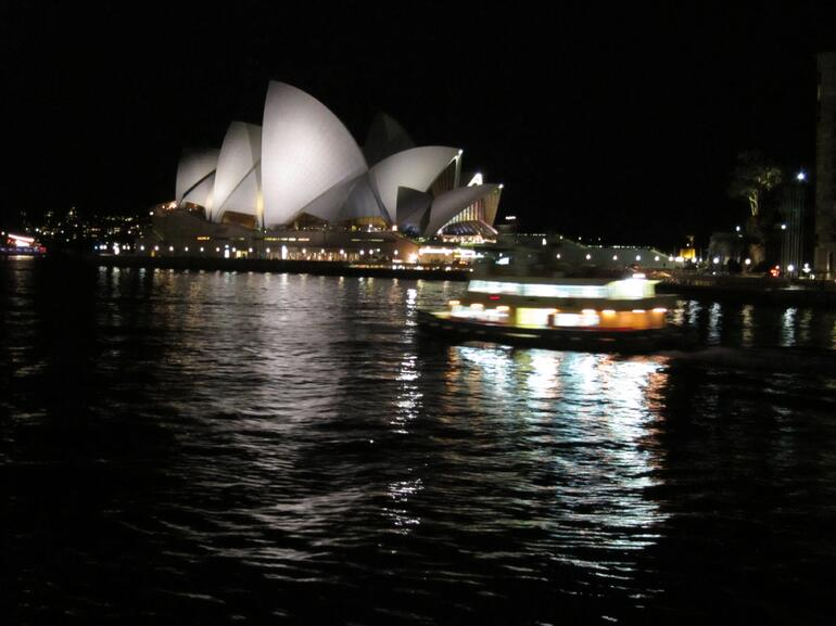Opera House and Ferry - Sydney