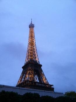 Eiffel tower in a cold night , Cristina H. - May 2013