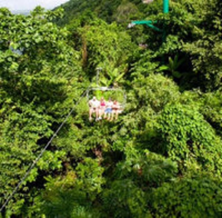 Sky Explorer Chairlift - Ocho Rios