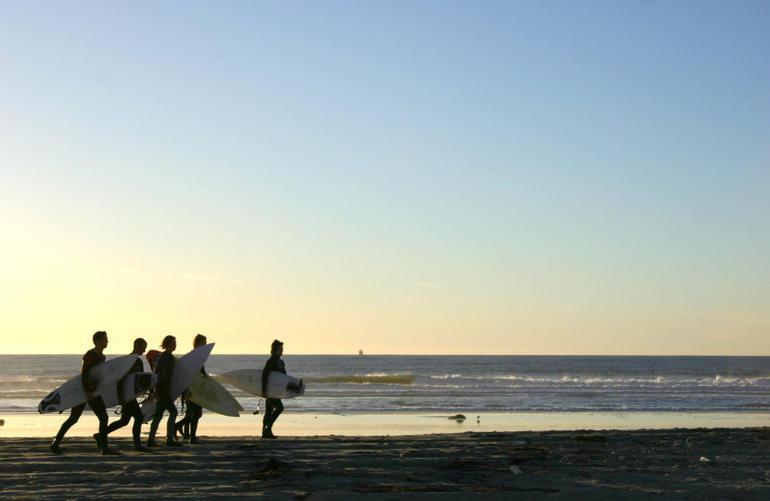 Surfing in San Diego - San Diego