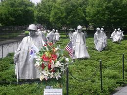 The Korean War Memorial - August 2010