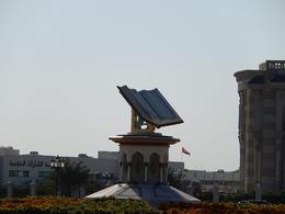 This symbolises the strict faith this Emirate keeps. , Elizabeth W - January 2014