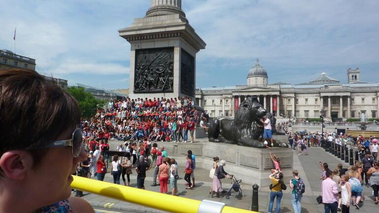 Trafalgar Sq - London