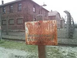 Auschwitz-Birkenau visit , Nicolas G - April 2015