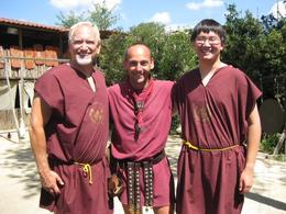 After an exhausting lesson and battle with our instructor., Glenn L - August 2009