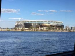 The new Perth stadium under construction , Colin-Maria T - October 2016