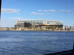 The new Perth stadium under construction , Colin-Maria T - October 2016