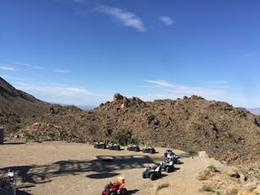 A view of our first stop on the mountain doing the atv ride tour , Ashley O - August 2017