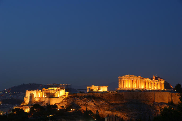 Acropolis Night View - Athens
