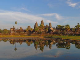 The classic view of Angkor Wat. , Kevin F - December 2014