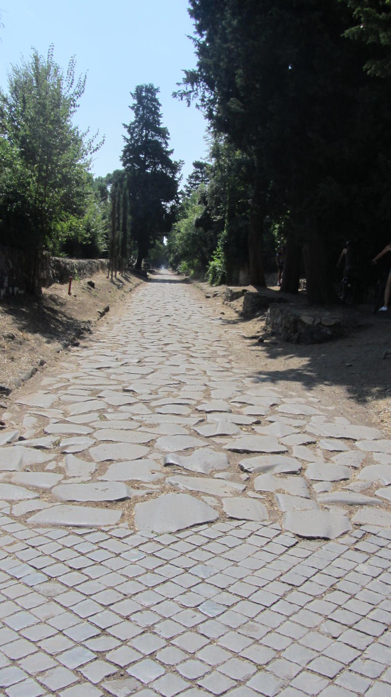 Ancient Appian Way, Catacombs and Roman Aqueducts Electric-Assist Bicycle Tour photo 29