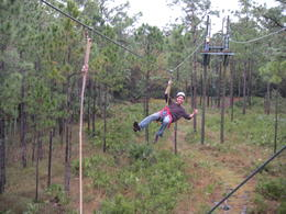 Ziplining!!, JennyC - August 2013