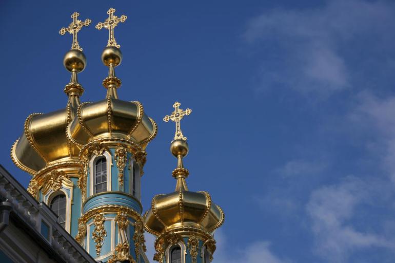 Catherine's Palace in Tsarskoye Selo, Russia - St Petersburg