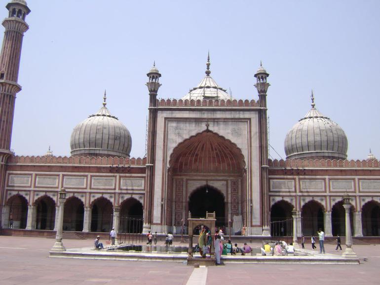 Delhi Mosque 5 - New Delhi