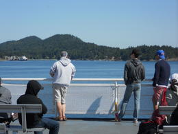 Just sun bathing in the cool crisp air of the San Juan Islands! , Terrence C - July 2011