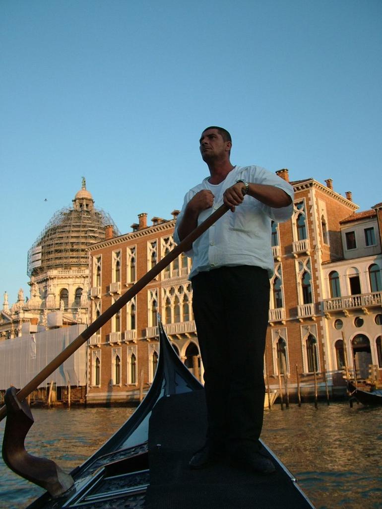 Gondola Trip - Venice