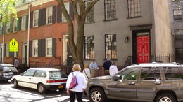 Our guide showing us Greenwich Village. , Derrick W - June 2013