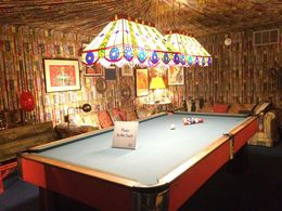 Elvis was quite the entertainer and didn't skimp out on anything, including his pool table! , Karen B - June 2016