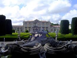 Jardin et vue principale du Palais de Queluz , Hélène H - June 2014