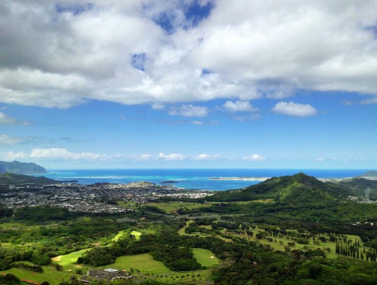 Pali Lookout - Oahu