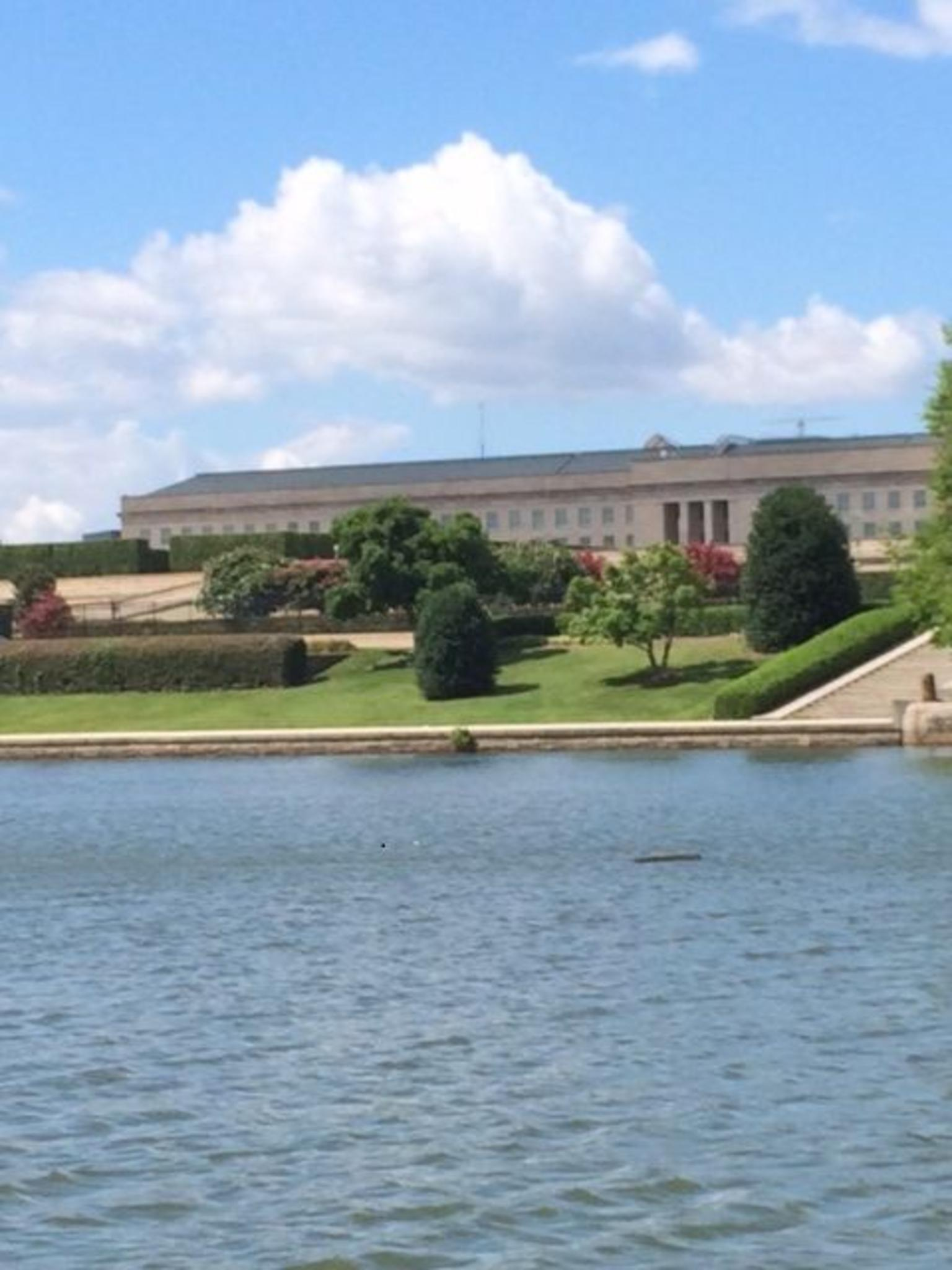 Pentagon from the Potomac River