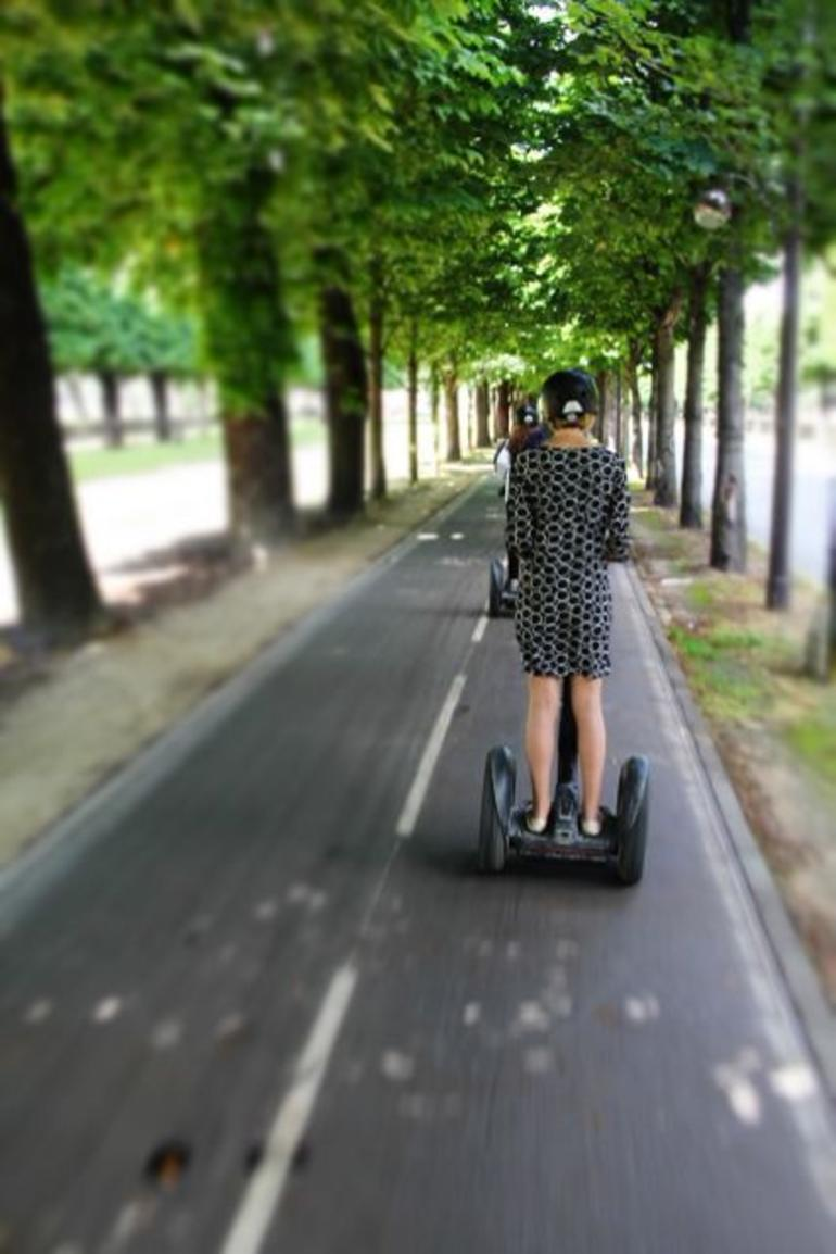 Segway on the bike path in Paris - Paris