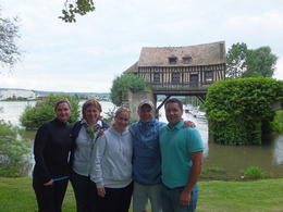 Our family bike ride to Giverny was a highlight of our trip to Paris. , James M - July 2013