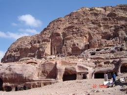 These are the tombs of Nabateans., Olivia Z - November 2008