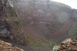 Mt. Vesuvius Crater , Teresita D - November 2016