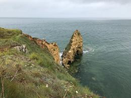 One of many iconic photos taken at Pointe du Hoc. , Ronald R - August 2017