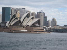 Opera House from cruise. , Terry K - August 2017