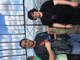 My sons Cory and Andrew on top of the Empire State building , Cory C - September 2017