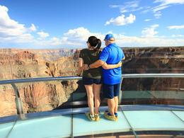 At the Skywalk at Grand Canyon West - fantastic! , HAKAN S - September 2017