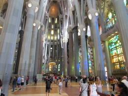 A view as you enter La Sagrada. , Dominick J B - October 2017