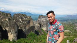 On these rocks sit the monasteries of Meteora, the oldest being 700 years! View is absolutely breaktaking, and the history is rich. , Yang V - May 2015