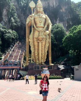 Batu Caves Visits , Charisma - July 2016