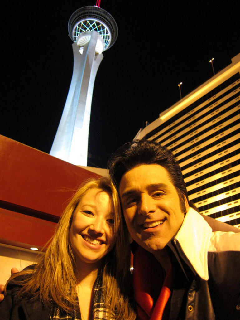 Brit and Elvis - Las Vegas