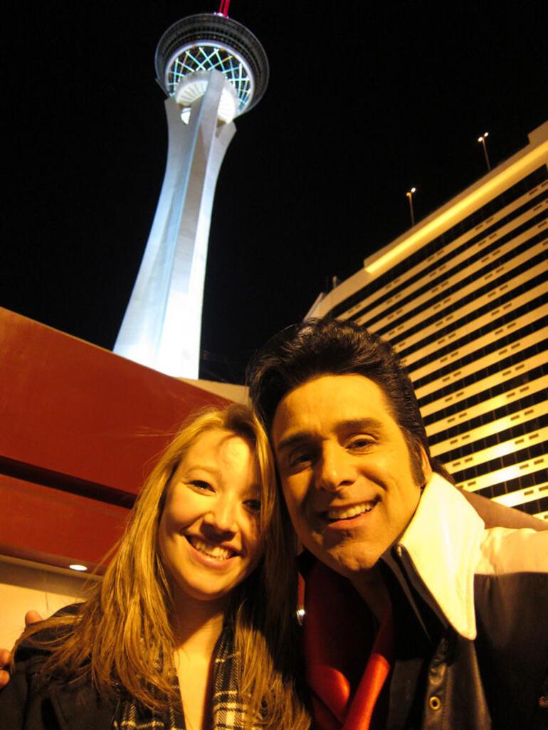 Brit and Elvis - Las Vegas