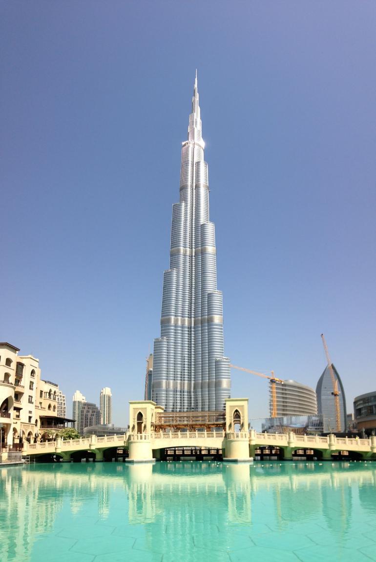 Burj Khalifa from outside - Dubai