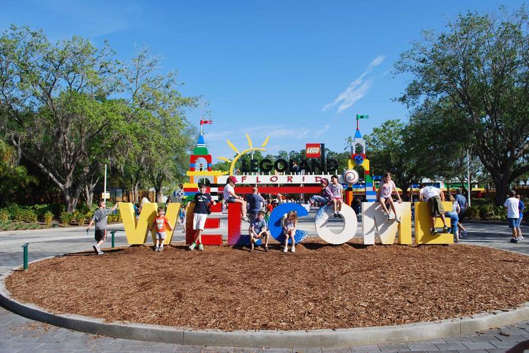 Entry to park - Orlando