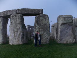 My friend Jane and I experiencing the magic of Stonehenge in the early morning. , Holly N - April 2014