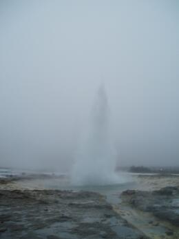 The Geysir at national park., JAYNE S - March 2009