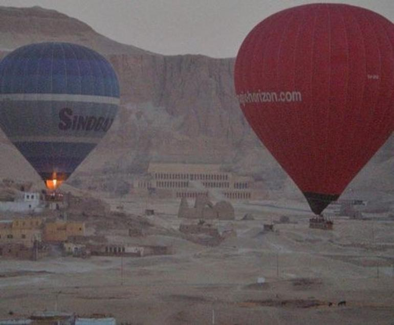 Hot Air Balloon in Luxor - Egypt
