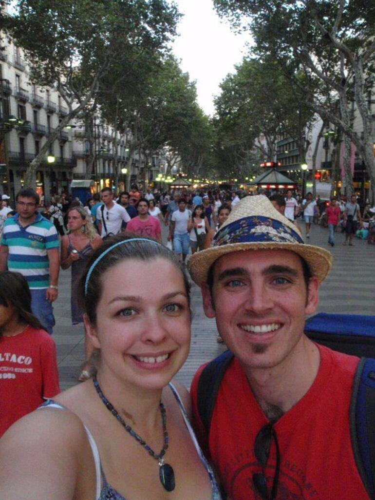 Las Rambas, Barcelona -