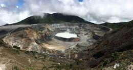 This is a panoramic pic of the crater I took with my iphone. , Travis W - September 2016